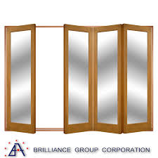 china aluminum frame glass double entry door china folding door aluminium folding door