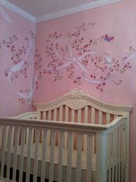 divine image of home wall decoration with erfly wall murals extraordinary girl baby nursery room