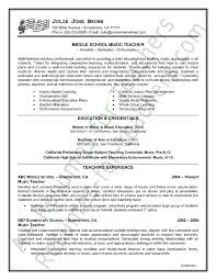 Resume Examples Sample Of Cv Physics Teacher With Charming ...