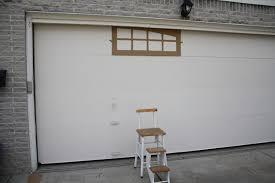 Faux Garage Door Windows Ballin With Balling Garage Door Facelift For Less Than 20