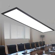 Simple Office Design Classy ZX Modern LED Aluminum Panel Light Simple LED Chip Office Chandelier