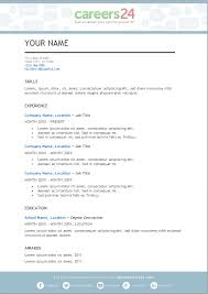 general cv template 4 free downloadable cv templates for south african job seekers