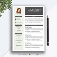 This Beautiful And Modern Ms Office Word Resume Template With Cover