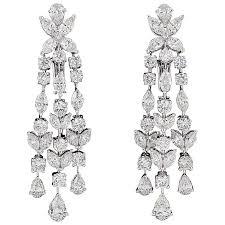 diamond chandelier earrings for