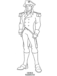 Small Picture President George Washington coloring pages Free Printable