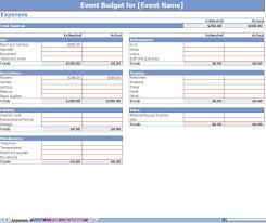 Event Planning Calendar Template Event Budgeting Excel Template Screenshot Professional Pinterest 13