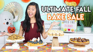 baking sale how to create the ultimate fall bake sale donuts cupcakes and