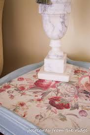 how to wallpaper furniture. How To Decoupage With Wallpaper Plus Tips For Whitewashing. Postcards From The Ridge Furniture