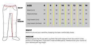 Womens Jeans Size Chart Length 33 Systematic Womans Jeans Size Chart