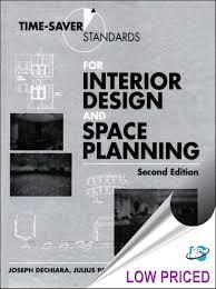 Interior Design Space Planning time-saver standards for interior design and space  planning, 2nd