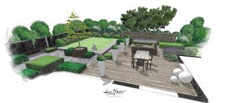 Small Picture Garden Design Drawing Good Example Of A Formal Rectangular Lawn