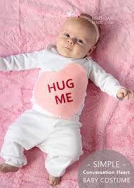 baby costume conversation heart