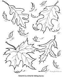 Small Picture Coloring Page Free Printable Pages Nature For Kids Leaf Leaf