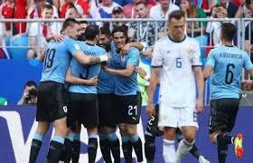 روسيا - أوروجواي تعاقب روسيا وتتصدر المجموعة الاولى