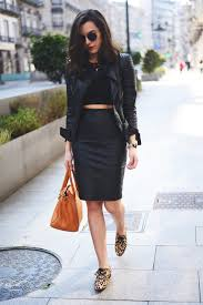 céline sunglasses fashion through my eyes is wearing skirt and top from mango zara leather jacket
