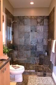 Bathroom Gray Stone Shower Interior For Small Bathroom Decor With