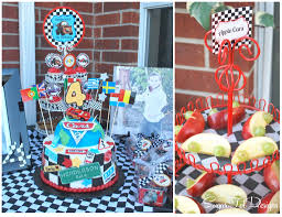Cars Themed Birthday Party Decorating Ideas - Decorations Party