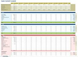 Family Budget Spreadsheet Template Excel 2007 – Trendologist