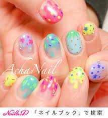 春夏ネイルはネオンカラーを自分らしくアレンジ20192019 Nails