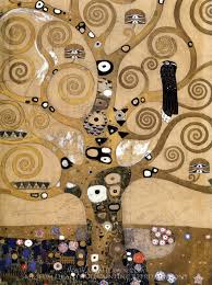 gustav klimt tree of life oil painting reion