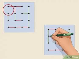 Connection dots will appear, indicating that your line can be connected to the shape. How To Play Dots And Boxes 15 Steps With Pictures Wikihow