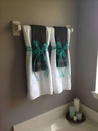 Bathroom Towel Decor Bathroom Towel Designs 1000 Ideas About Bath Towel Decor On