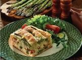 asparagus and ham brunch bread