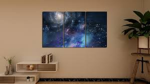 Canvas Poster <b>Home Decoration Modular</b> HD Printing 3 Star Room ...
