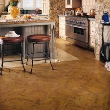 brown stone look vinyl floor tile for kitchen by adura manhattan medium size