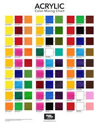 Acrylic Color Mixing Chart Pdf Bedowntowndaytona Com