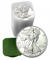 2019 American Eagle Silver Dollar Roll Of 20 Gold Spot