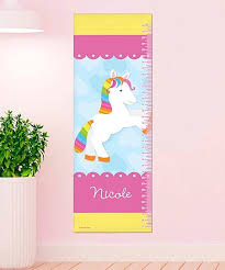 Pony Height Chart Spark Spark Pink Yellow Rainbow Pony Personalized Height