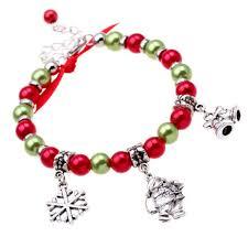 2018 Simple Christmas Series Of Women Bracelets Christmas Snowflake