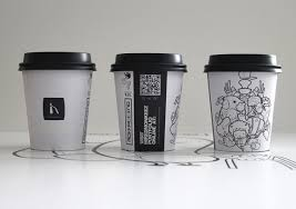 Illustrated Coffee Cup Design by Steve Simpson