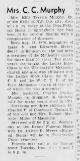 Ethel Effie Berry Murphy obit - Newspapers.com