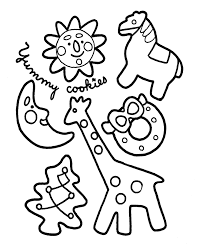 Small Picture Sugar Cookie Coloring Pages High Quality Coloring Pages