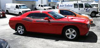 Dodge Challenger R/T Side Racing Stripes by 3M CERTIFIED Car Wrap ...
