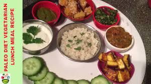 Paleo Diet Vegetarian Lunch Meal Recipe In Tamil