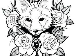 Cute Kawaii Animal Coloring Pages Cutest Sheets Colouring Free Of