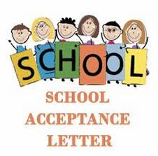 Letter Of Acceptance Sample School School Acceptance Letter Free Letters