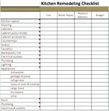 Kitchen Remodeling Templates Renovation Spreadsheet Home Renovation Budget Spreadsheet Template