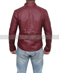 smallville red leather jacket superman jacket costume