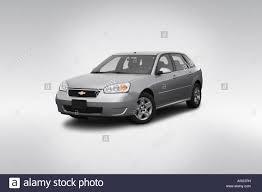 2007 Chevrolet Malibu Maxx LT in Silver - Front angle view Stock ...