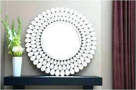 wall mirrors modern round wall mirror photo gallery of decorative mirrors viewing in large uk