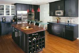 Modern Black Kitchen Cabinets Kitchen Simple Dark Kitchen Cabinets With Light Countertops