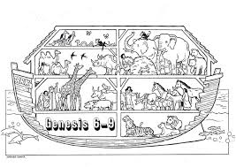 Coloring Pages Noah Ark Full Size Of Noah Coloring Page With