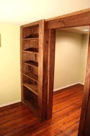 hidden wall door. make sliding bookcase hidden door bookshelf walnut wall and been considering walling off the