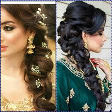 Indian Hair Style Indian Wedding Hairstyles For Mid To Long Hair 4173 by wearticles.com