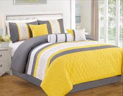 rousing piece yellow geometric embroidered queen comforter set bedding piece yellow geometric embroidered queen comforter in