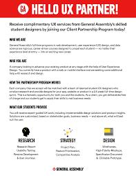 General Assembly Ux Design